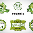 Eco bio logos — Stock Vector #63149575