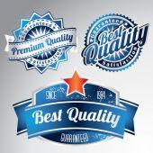 Vintage premium quality collection — Stock Vector