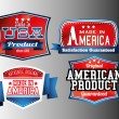 Made in USA labels — Vetor de Stock  #63392561