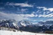 мадонна лыжный курорт di campiglio — Стоковое фото