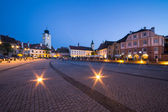 Small Sqaure in Sibiu — Stock Photo