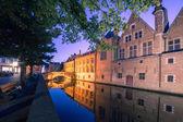 Канала Брюгге, Бельгия — Стоковое фото