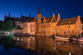 Bruges canal, Belgium — Stock Photo