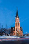 Church in Lulea — Stock Photo