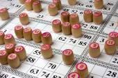 Board game Lotto — Stock Photo
