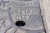 Sewerage Pattaya — Stock Photo