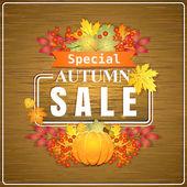 Venda de outono — Vetor de Stock