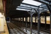 纽约城地铁站 — 图库照片