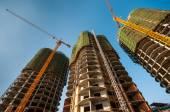 Edificios en construcción — Foto de Stock