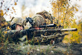 Sniper team — Stock Photo
