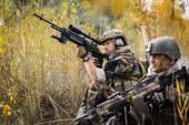 Military sniper — Stock Photo