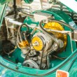 Vintage car engine — Stock Photo #65605621