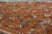 High view of Venice,Italy — Stock Photo