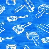 Seamless tools background — Vector de stock