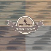 Set of seamless patterns — Stock Vector