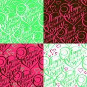 Gelukkige Valentijnsdag! — Stockvector