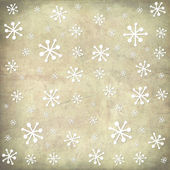 Weihnachts-Postkarte-Jahrgang Schnee-Hintergrund — Stockfoto