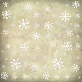 Christmas postcard vintage snow background — Stock Photo