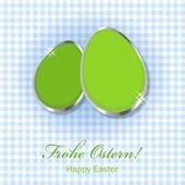 счастливый пасхальные яйца — Стоковое фото