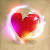 情人节那天的心 — 图库矢量图片