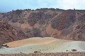 Paisagem vulcânica na teide, tenerife, ilhas canárias, espanha — Fotografia Stock