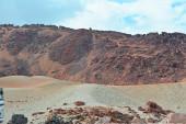 Volcanic landscape on Teide, Tenerife, Canary Islands, Spain — Stock Photo