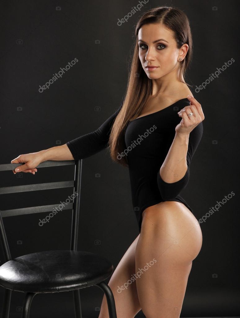 Brunette Fitness Model 80