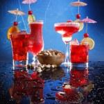 Cocktails with pistachio — Stock Photo #62808501