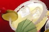 Glass of Margarita cocktail — Stock Photo