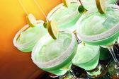 Margaritas kieliszki koktajlowe — Zdjęcie stockowe