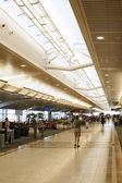 Airport terminal's concourse — Stock Photo