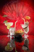 Marini, Margarita, Fizz and Colada — Stock Photo