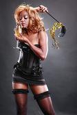 Woman in sexy attire — Stock Photo