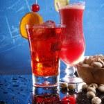 Cocktails with pistachio — Stock Photo #62810037