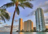 Beautiful Downtown of Miami — Stock Photo
