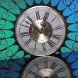 Decorative vintage clock — Fotografia Stock  #64588045