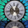 Decorative vintage clock — Fotografia Stock  #64594077