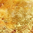 Ancient Mayan Calendar, abstract color Background. — Stock Photo #77632078