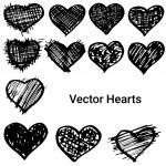 Hearts set — Stock Vector #71180331