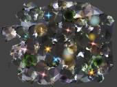 Abstract background reminiscent of diamonds — Stockvektor
