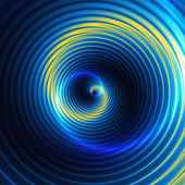 Abstract background of concentric swirling circles creating an illusion of movement — Stock Photo