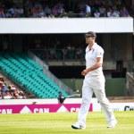 English cricketer Kevin Pietersen walks at SCG — Stock Photo #62246541