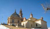 Old majestic church in Carmona — ストック写真