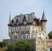 Biarritz city in  France — Stock Photo