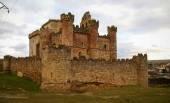 Old turegano castle — Stock Photo