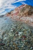 Picturesque Firiplaka beach — Zdjęcie stockowe