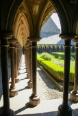 Старый монастырь во Франции — Стоковое фото