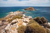 Beautiful seashore of Euboea island, — Stock Photo