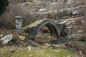 Captain Arcoudas old stone bridge — Stock Photo