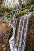 Waterfalls at Monasterio de Piedra — Fotografia Stock